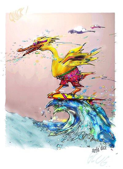 surfin' duck 1 by victor
