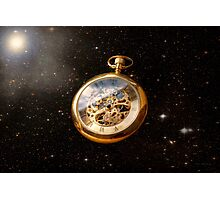 Clockmaker - Space time Photographic Print