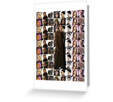 Tenth Doctor w/ Companions TWIN Duvet Cover and etc. Greeting Card