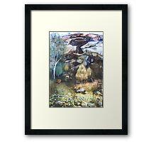 Landscape - Goulburn River National Park Framed Print