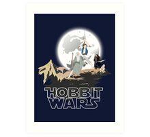 Hobbit Wars Art Print