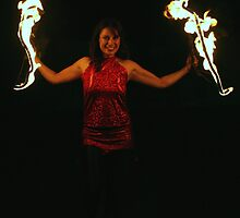 One Firey Lady by Paul Barber