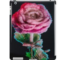 Crystallized Rose Flower iPad Case/Skin