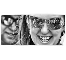 Reflective Smiles Poster