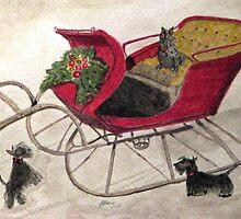Hoping For A Sleigh Ride by AngieDavies