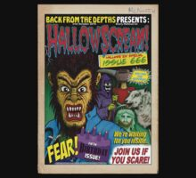 Hallowscream! 2014 Front Cover (official) by Malcolm Kirk