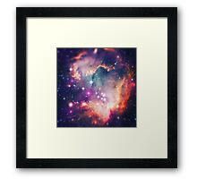 The Universe under the Microscope (Magellanic Cloud) Framed Print