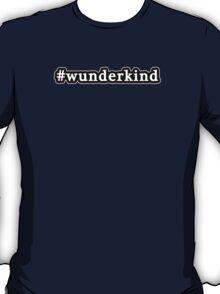 Wunderkind - Hashtag - Black & White T-Shirt