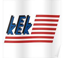 Lel Kek CNC Industries Logo Poster