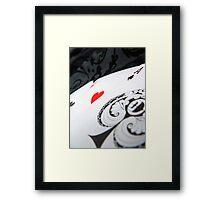 Lucky Heart Framed Print