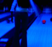 Ten-pin Bowling in Neon by blueclover