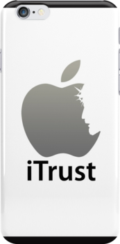 iTrust Christian Case For iPhone 4 by Lana Wynne