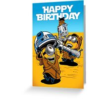Despicable Jawas - Birthday Card Greeting Card