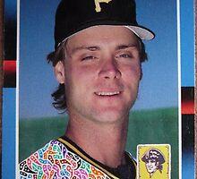 255 - Bob Kipper by Foob's Baseball Cards