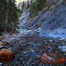 In the Heart Creek canyon by zumi