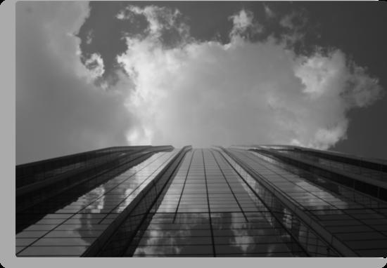 Looking Up v8 - AIG building, Hong Kong by Jonathan Russell