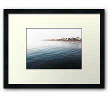 To The Point Framed Print