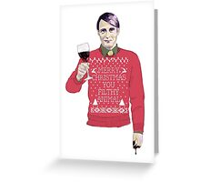A Very Hannibal Christmas  Greeting Card