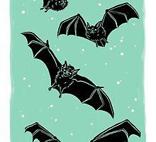 Batty in Mint by HeyRockee