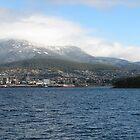 Snow on Mout Wellington Tasmania by David  Kembrey