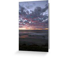 Kalbarri Beach Sunset  Greeting Card