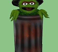 Oscar The Grouch by ChePanArt