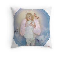 Everybody's Angel Throw Pillow