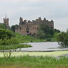 Linlithgow Palace and loch Scotland by charlielinlithgow