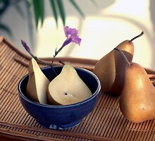 Morning Pears by Antaratma Images