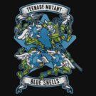 Teenage Mutant Blue Shells by Letter-Q