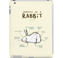 Anatomy of a Rabbit iPad Case/Skin