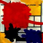 Mondrian has a bad day. by ambientlight