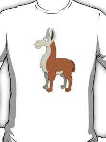 Friendly cartoon lama T-Shirt