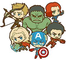 Funny AVENGERS Photographic Print