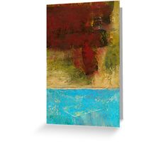 Desert Color Greeting Card
