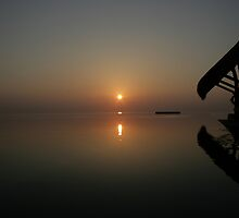 Still Maldivian Sunrise by madmax247