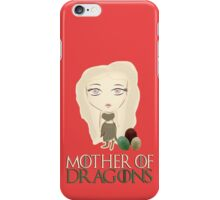 Game of Thrones: The Mother of Dragons iPhone Case/Skin