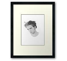 Robert Pattinson Framed Print