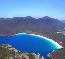 Wine Glass Bay, Tasmania by Bart The Photographer