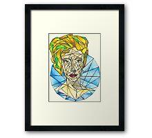 HW Framed Print