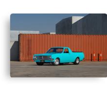 Blue Holden HK Ute Canvas Print