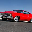 Red Ford XC Coupe by John Jovic