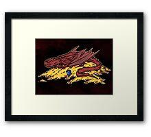 Smaug's treasure Framed Print