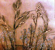 "Mornington Peninsula Grasslands 8 by Belinda ""BillyLee"" NYE (Printmaker)"