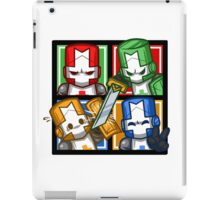Castle Crashers Four-Square iPad Case/Skin