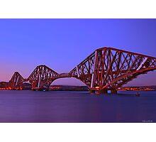 Forth Bridge-Queensferry-Scotland Photographic Print