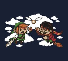 harry potter vs zelda Kids Clothes