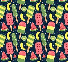 Pop Popsicle Pattern by haidishabrina
