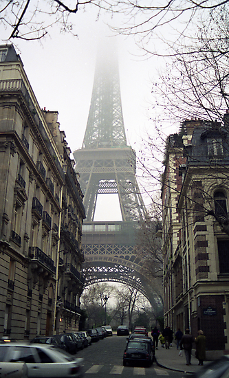 Eiffel Tower by Michael Eyssens