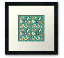 Whole Lotta Cat (Natural version) Framed Print